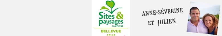 Banderolle camping Bellevue
